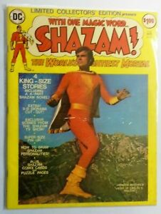 Shazam DC Treasury Edition #C-35, Water Stain on Cover 4.0 (1975)