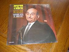 Myron Cohen LP Everybody Gotta Be Somebody SEALED