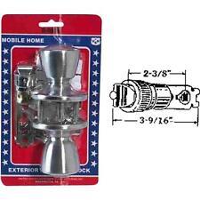 6 Pk U S Hardware Mobile Motor Home RV Satin Chrome Entry Door Lockset D-090B