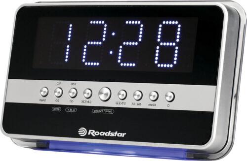 Roadstar CLR-2619 Uhrenradio mit Jumbo Display und doppel Alarm