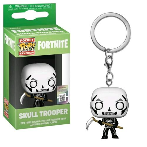Keychain-FUN36952 Fortnite Skulltrooper Pocket Pop