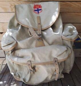 sac a dos  ancien LAFUMA vintage montagne scout randonnee vintage