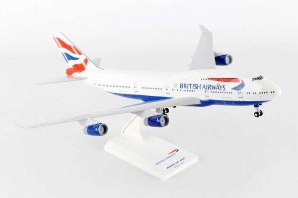 cieloMarks SKR304  1200 British Airways B747400 modellololo in plastica
