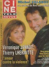 CINE REVUE 1984 n°50 veronique jannot lhermitte galabru oliver reed guy lux