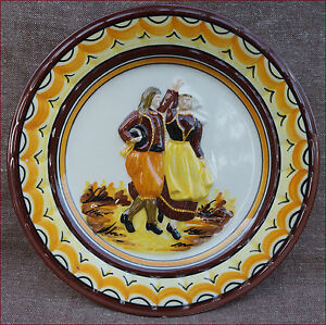 Henriot Quimper Dancers Relief Plate Bretons 1960 - France - French- antic Gallery on eBay Henriot Quimper Dancers Relief Plate Bretons 1960 Vintage relief plate showing a couple of Breton dancers in traditonnal costume made by Henriot in Quimper during the 1960's. Good condition, an hairline on the back n - France