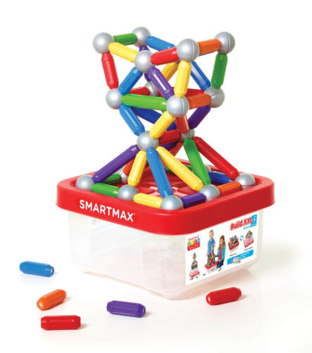 SmartMax Build XXL Magnetic Play Set 70 PCs With Instruction Guide Click and