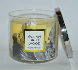 New Bath Amp Body Works Ocean Driftwood Scented Candle 3
