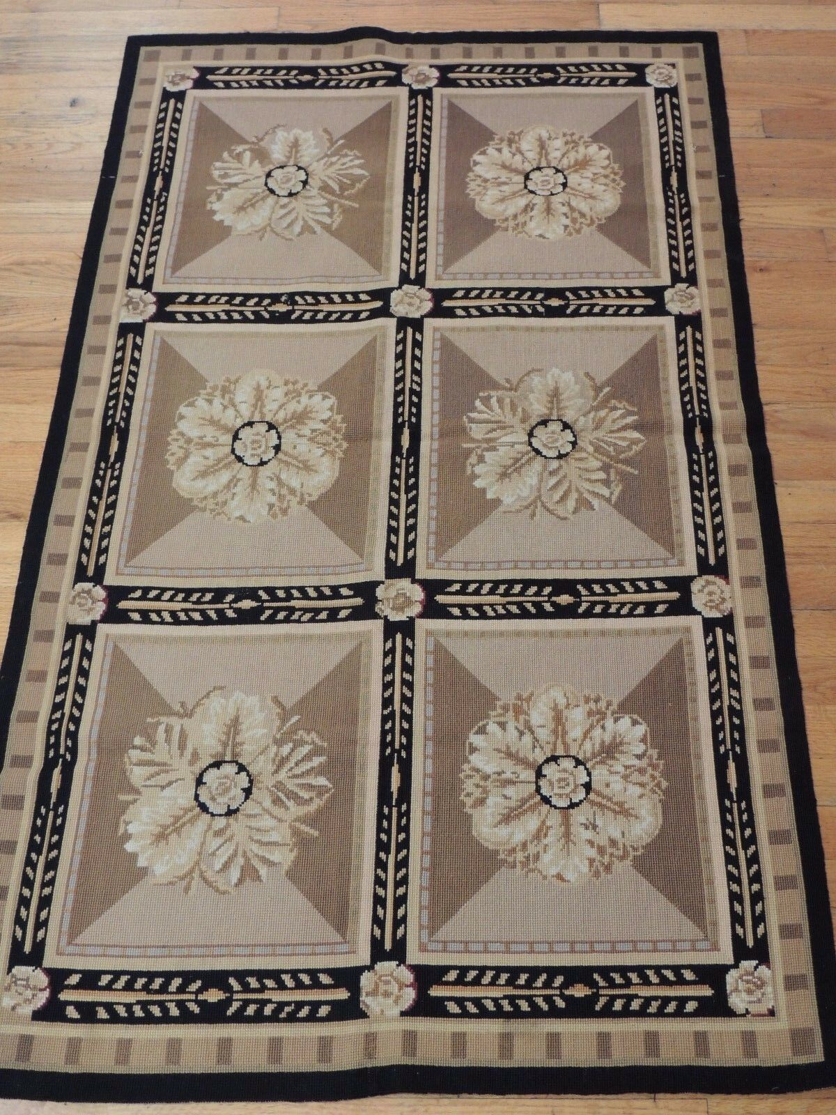 3x5 French Small Rugs French 3x5 Aubusson Style Needlepoint Oriental