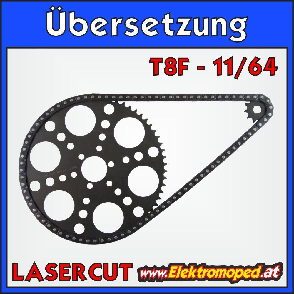 Ersatzteil Elektro-Scooter 11 64 64 64 T8F Komplettübersetzung Berg mit Ritzel und Las ae1c93