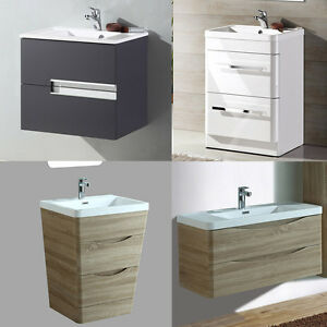 Image Is Loading Modern Bathroom Vanity Unit Basin Sink 2