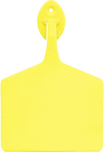 "Yellow 4.25/"" x3/"" Allflex Feedlot Tags Blank 50ct Package"