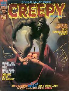 Creepy Magazine (horror comics) - 150 issues on a CD