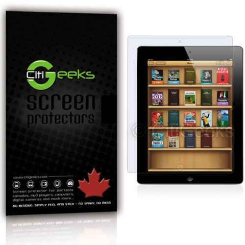 CitiGeeks® iPad 2 Screen Protector Anti-Glare Matte LCD Saver Shield 3-Pack