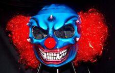 Scary Clown Custom Made + Airbrushed Motorcycle Helmet