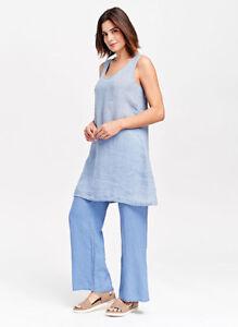 Nwot Liquidation en Flax ludique Designs Pantalon M lin C7Yzq