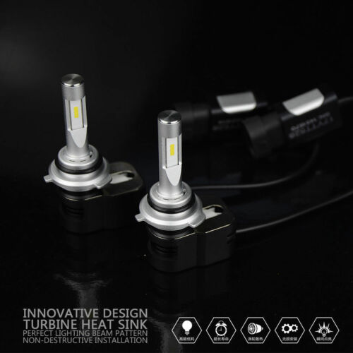 2 Bulbs of 9006 LED Low Beam Headlight Replacement Kit 5000K Cool White