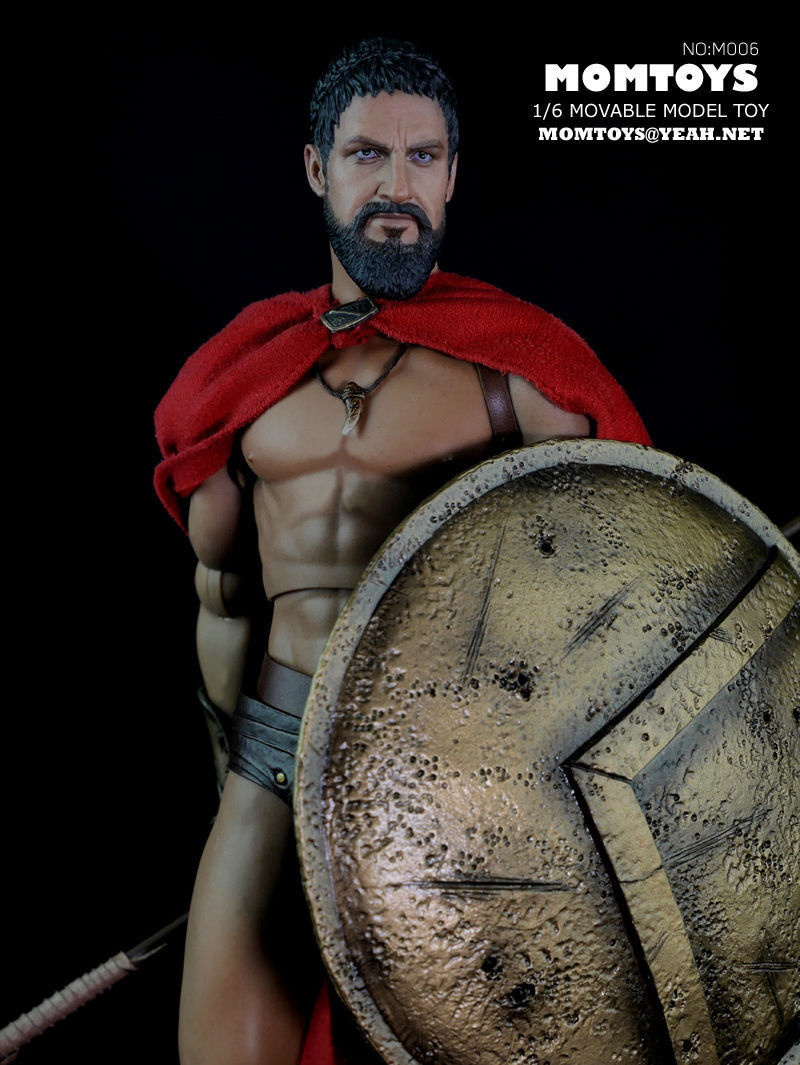 1 6 Momtoys M006 Ancient Greek Warrior Sparta Sparta Sparta King Leonidas 12  Action Figure ac06e1