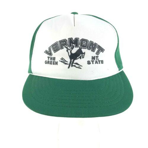 Mens Snapback Hat Foam Polyester Trucker Hat Vermo