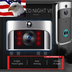 Wireless-WiFi-Smart-DoorBell-Video-Phone-Door-Visual-Ring-Intercom-Secure-Camera
