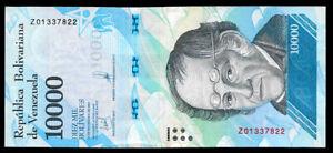 Venezuela-10000-Bolivares-2017-Replacement-Note-Serial-Z8-UNC