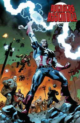 FEAR ITSELF #7 Captain America wields Thor's Hammer ...