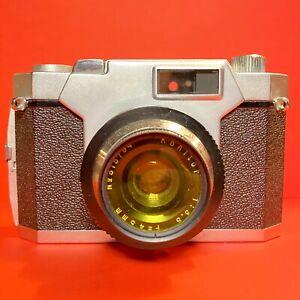 Vintage-Konica-konilette-35-Kamera-35mm-Kompaktkamera-gebrauchsfaehig-Lomo