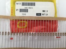 (200 pcs) OK18G5 Ohmite, 1/4 Watt 1.8 Ohm 5%, Carbon Film Resistor (Axial)