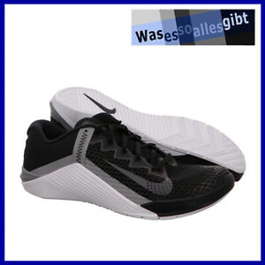 SCHNÄPPCHEN! Nike Metcon 6 \ schwarz/grau \ Gr.: 44 \ #FI 22085