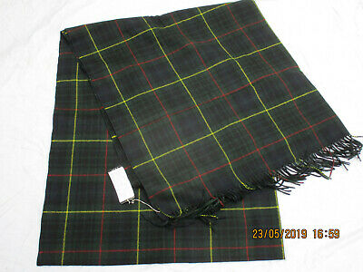 Generoso Plaid Scarf, N. 8 Hunting Stewart Tartan, Royal Scots, 140x310cm, Datato 1989-m,datiert 1989 It-it Mostra Il Titolo Originale Corrispondenza A Colori