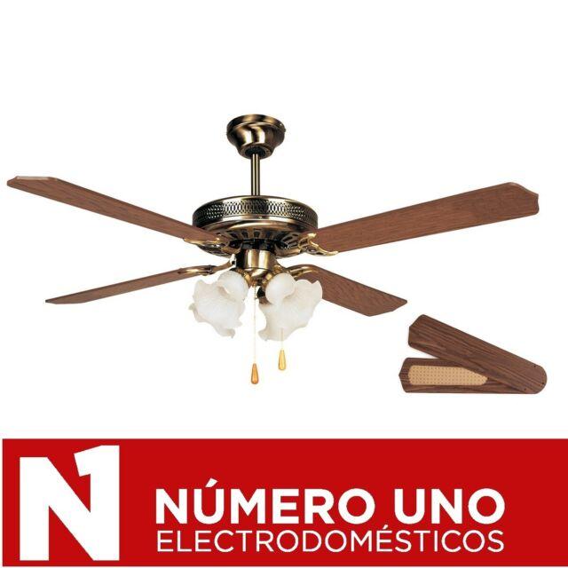 Madera Orbegozo Ventilador de Techo