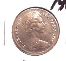 CIRCULATED 1969 10 CENT AUSTRALIAN COIN!!