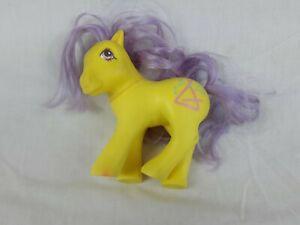 Rare-Vintage-My-Little-Pony-MLP-G1-Schooltime-Pony-Musictime-UK-1987-Ink-damge