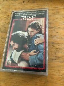 RUSH-Movie-Soundtrack-Eric-Clapton-Music-Cassette-Tape