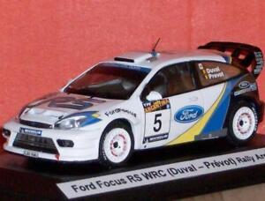 01:43 Transkit Francois Duval Ford Focus Rs Wrc Rally Argentina 2003 Rare