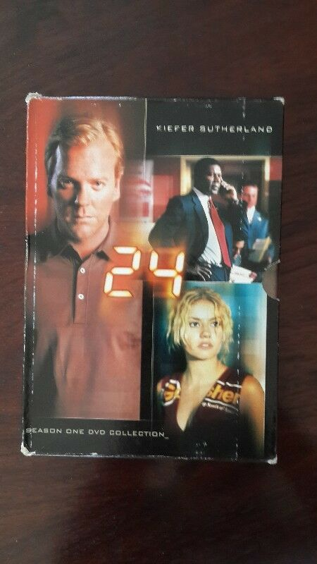 TV series on DVD: 24 with Kiefer Sutherland