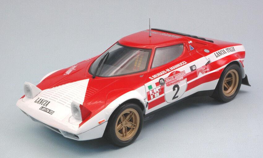 Lancia Stratos Winner Sanremo Rally 1974 S. Munari   M. Mannucci 1 18 Model