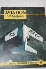 AVIATION MAGAZINE N°33- 1951-AVIATION DE TRANSPORT CESSNA 140 BELL X5  BREDA