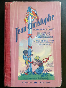 Scolaire-ancien-Jean-Christophe-Romain-Rolland-illustre-Ray-Lambert-1932