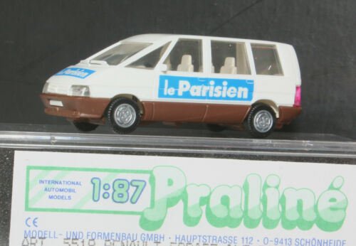 """Praline  5518 Renault Espace /"""" Le Parisien /"""" 1:87  OVP"""