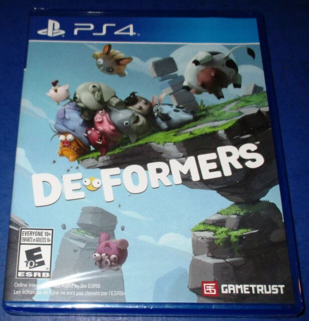 De-Formers Sony PlayStation 4 *New! *Factory Sealed! *Free Shipping!