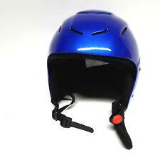 Skihelm Helm snow Gr. S 54-56 cm blau Kinderhelm Schlittschuhlaufen