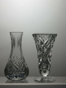 Lead-Crystal-Cut-Glass-Vases-Set-of-2