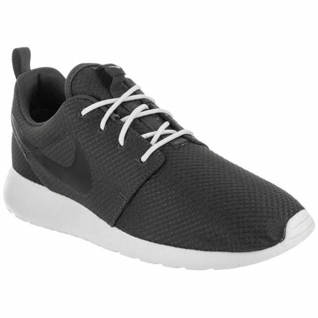 Nike Roshe One Anthracite Black Mens Lowtop Cushioning Sneakers Trainers