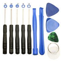 11 In 1 Mobile Repair Opening Tool Kit Set Pry Screwdriver For Phone FG UK