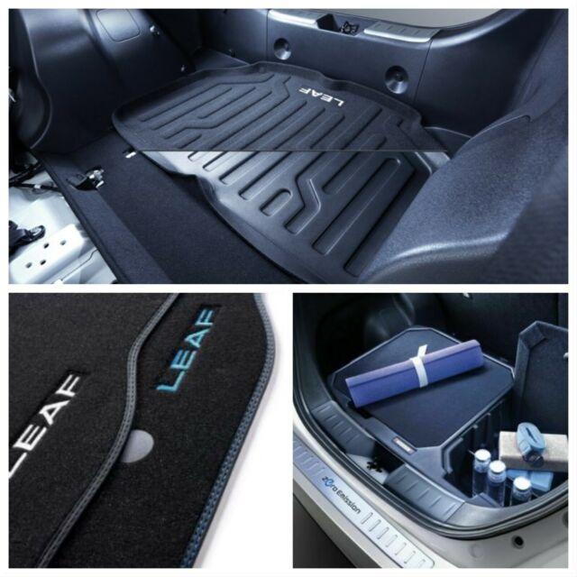Nissan Leaf Ze1 2018 Chrome Rear Bumper Protector Genuine 999B18600C Auto: reserveonderdelen