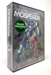 Genesis-Climber-Mospeada-DVD-2003-5-Disc-Set-BRAND-NEW-R1-RARE-Robotech