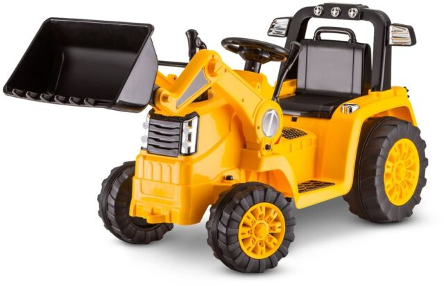 Battery Powered Ride On Toys For Toddlers >> Bulldozer Tractor Ride On Cat 6v Battery Powered Electric Drive Toys Kids Child