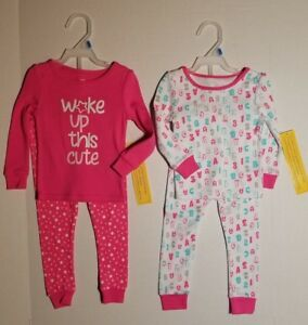 Luggi Baby Girls Pajamas Sets 100/% Cotton Toddler Pjs Sleepwear