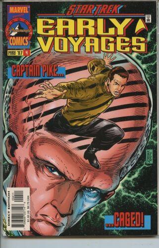 Star Trek Early Voyages 1997 series # 4 near mint comic book