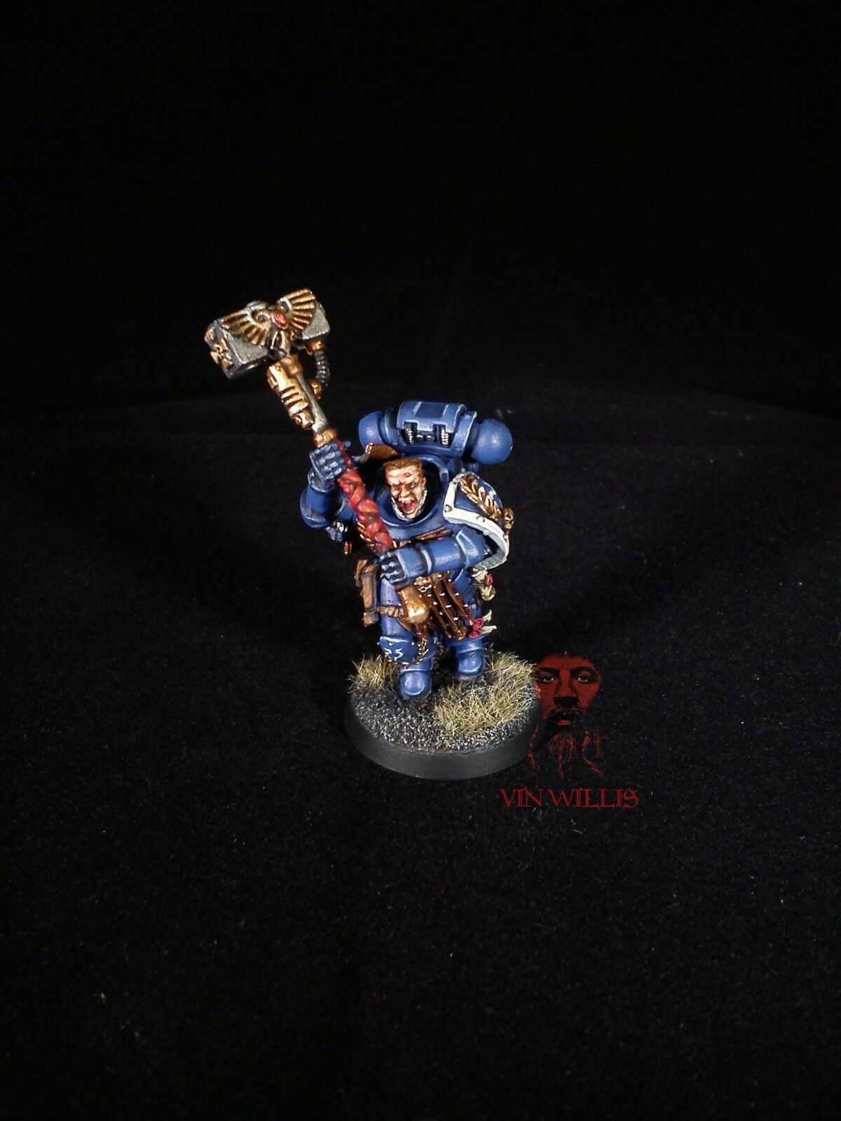 Space marine 2008 gameday METAL warhammer 40k PAINTED